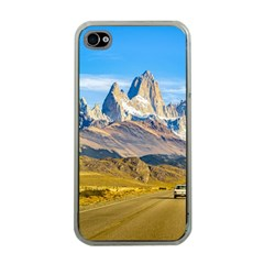 Snowy Andes Mountains, El Chalten, Argentina Apple iPhone 4 Case (Clear)