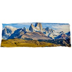 Snowy Andes Mountains, El Chalten, Argentina Body Pillow Case (Dakimakura)