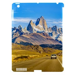 Snowy Andes Mountains, El Chalten, Argentina Apple iPad 3/4 Hardshell Case (Compatible with Smart Cover)