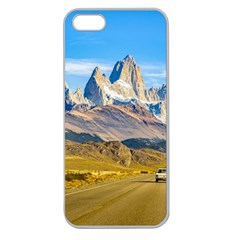 Snowy Andes Mountains, El Chalten, Argentina Apple Seamless iPhone 5 Case (Clear)