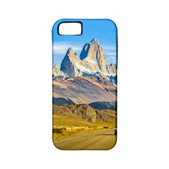 Snowy Andes Mountains, El Chalten, Argentina Apple iPhone 5 Classic Hardshell Case (PC+Silicone)