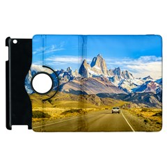 Snowy Andes Mountains, El Chalten, Argentina Apple iPad 3/4 Flip 360 Case