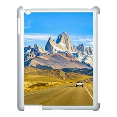 Snowy Andes Mountains, El Chalten, Argentina Apple iPad 3/4 Case (White)