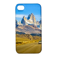 Snowy Andes Mountains, El Chalten, Argentina Apple iPhone 4/4S Hardshell Case with Stand