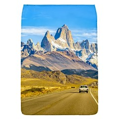 Snowy Andes Mountains, El Chalten, Argentina Flap Covers (S)
