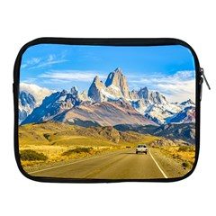 Snowy Andes Mountains, El Chalten, Argentina Apple iPad 2/3/4 Zipper Cases