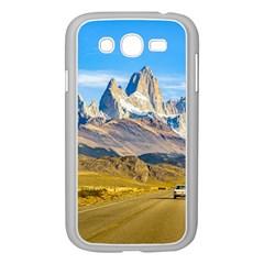 Snowy Andes Mountains, El Chalten, Argentina Samsung Galaxy Grand DUOS I9082 Case (White)