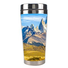 Snowy Andes Mountains, El Chalten, Argentina Stainless Steel Travel Tumblers