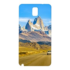 Snowy Andes Mountains, El Chalten, Argentina Samsung Galaxy Note 3 N9005 Hardshell Back Case