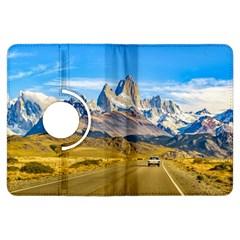 Snowy Andes Mountains, El Chalten, Argentina Kindle Fire HDX Flip 360 Case