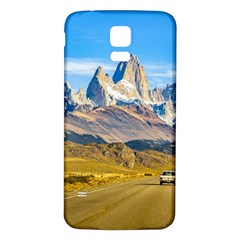 Snowy Andes Mountains, El Chalten, Argentina Samsung Galaxy S5 Back Case (White)