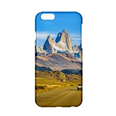 Snowy Andes Mountains, El Chalten, Argentina Apple iPhone 6/6S Hardshell Case