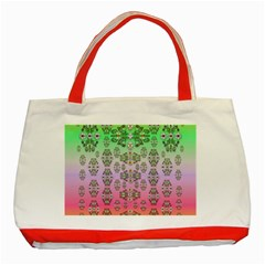 Summer Bloom In Festive Mood Classic Tote Bag (Red)