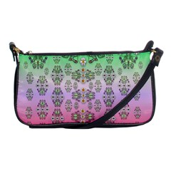 Summer Bloom In Festive Mood Shoulder Clutch Bags