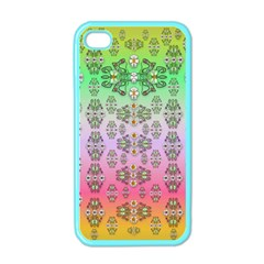 Summer Bloom In Festive Mood Apple Iphone 4 Case (color)