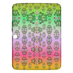 Summer Bloom In Festive Mood Samsung Galaxy Tab 3 (10 1 ) P5200 Hardshell Case