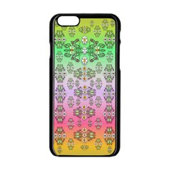 Summer Bloom In Festive Mood Apple iPhone 6/6S Black Enamel Case