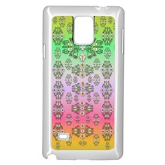Summer Bloom In Festive Mood Samsung Galaxy Note 4 Case (white)
