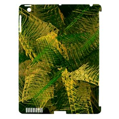 Green And Gold Abstract Apple iPad 3/4 Hardshell Case (Compatible with Smart Cover)