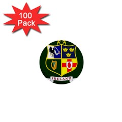 Flag of Ireland National Field Hockey Team 1  Mini Buttons (100 pack)