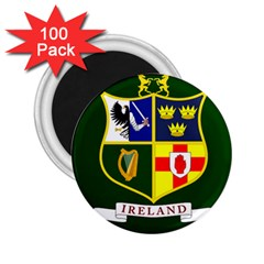 Flag of Ireland National Field Hockey Team 2.25  Magnets (100 pack)