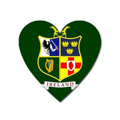 Flag of Ireland National Field Hockey Team Heart Magnet