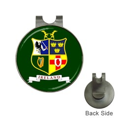 Flag of Ireland National Field Hockey Team Hat Clips with Golf Markers