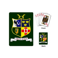 Flag of Ireland National Field Hockey Team Playing Cards (Mini)