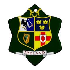 Flag Of Ireland National Field Hockey Team Ornament (snowflake)
