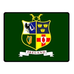 Flag of Ireland National Field Hockey Team Double Sided Fleece Blanket (Small)