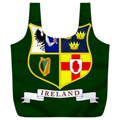 Flag of Ireland National Field Hockey Team Full Print Recycle Bags (L)