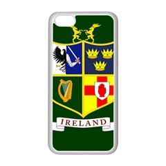 Flag of Ireland National Field Hockey Team Apple iPhone 5C Seamless Case (White)
