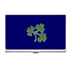 Flag of Ireland Cricket Team  Business Card Holders