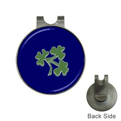 Flag of Ireland Cricket Team  Hat Clips with Golf Markers
