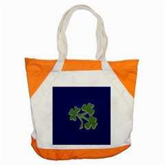 Flag of Ireland Cricket Team  Accent Tote Bag