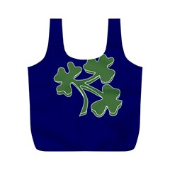 Flag of Ireland Cricket Team  Full Print Recycle Bags (M)