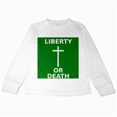 Battle of Arklow Flag Kids Long Sleeve T-Shirts