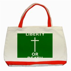 Battle Of Arklow Flag Classic Tote Bag (red)