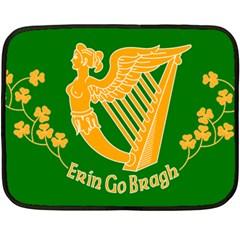 Erin Go Bragh Banner Double Sided Fleece Blanket (Mini)