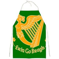 Erin Go Bragh Banner Full Print Aprons