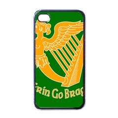 Erin Go Bragh Banner Apple iPhone 4 Case (Black)