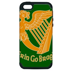 Erin Go Bragh Banner Apple iPhone 5 Hardshell Case (PC+Silicone)