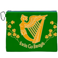 Erin Go Bragh Banner Canvas Cosmetic Bag (XXXL)