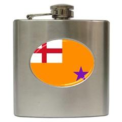 Flag of the Orange Order Hip Flask (6 oz)