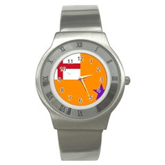 Flag of the Orange Order Stainless Steel Watch
