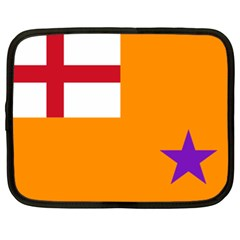 Flag Of The Orange Order Netbook Case (xl)