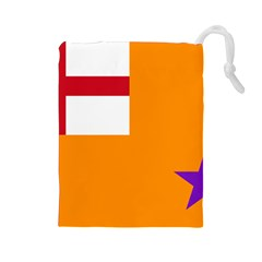 Flag of the Orange Order Drawstring Pouches (Large)