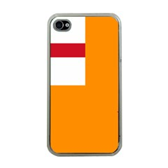 Flag of the Orange Order Apple iPhone 4 Case (Clear)