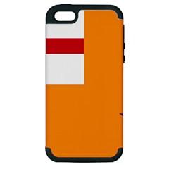 Flag of the Orange Order Apple iPhone 5 Hardshell Case (PC+Silicone)