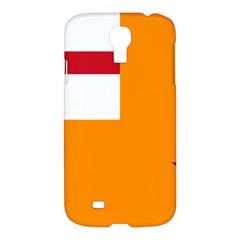 Flag of the Orange Order Samsung Galaxy S4 I9500/I9505 Hardshell Case